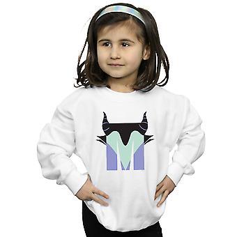 Disney Girls Alphabet M Is For Maleficent Sweatshirt