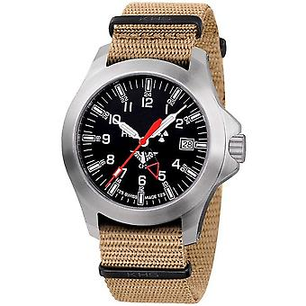 KHS watches mens watch platoon GMT LDR KHS. PGLDR. NT