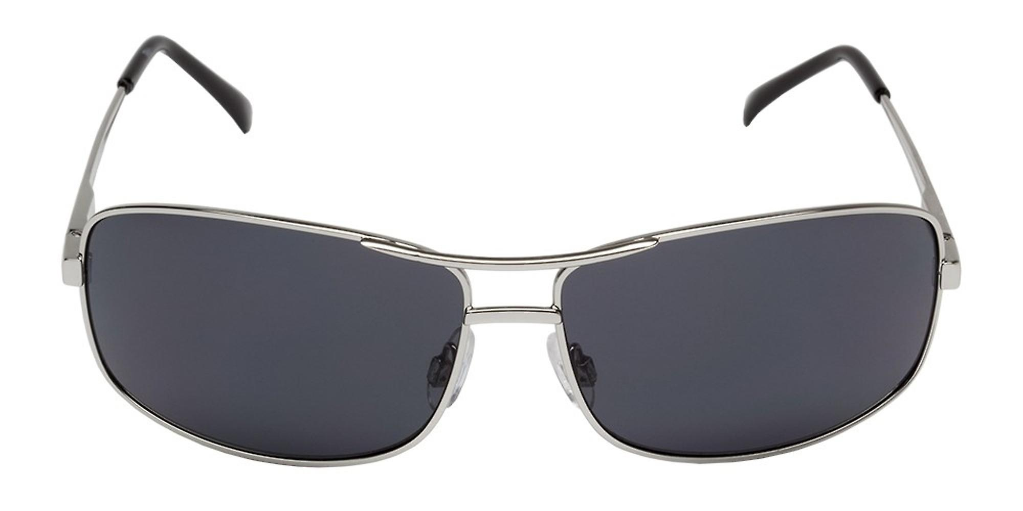 Classic sunglasses for men by Carlo Monti with 100% UV protection | sturdy metal frame, high quality sunglasses case, microfiber glasses pouch and 2 year warranty | SCM116-112 San Remo