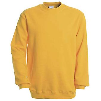 B&C Mens Set In Sleeve crewneck sweatshirt PST/Perfect Sweat Technology