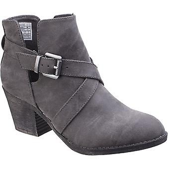 Rocket Dog Womens/Ladies Sasha Chunky Heel Belted Bootie Ankle Boots