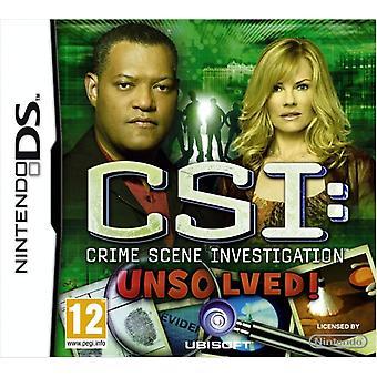 CSI Unsolved (Nintendo DS) - Fabrik versiegelt