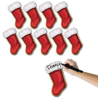 Mini joulu sukka pahvi leikkurit