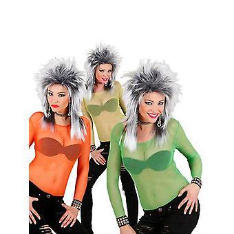 Camisa de mallas de neón (verde/naranja/amarillo)