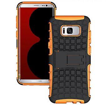 Hybrid case 2 piece SWL outdoor Orange for Samsung Galaxy S8 plus G955 G955F