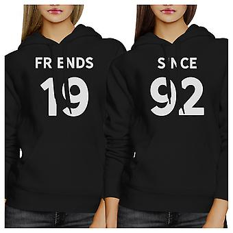 Friends Since Custom Hoodie Pullover Personalized Gift For Friends