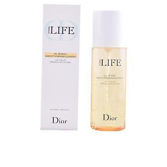 Diane von Furstenberg Hydra život olej na mlieko make-up odstránenie Cleanser 200 ml pre ženy