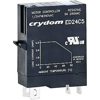 Crydom SSR ED24D5R Current load (max.): 5 A Switching voltage (max.): 280 V AC Random turn on 1 pc(s)