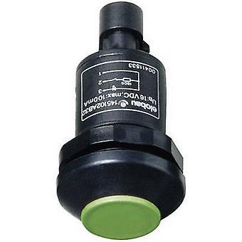 Elobau 145010AB-GN drukknop 48 V DC/AC 0,5 A 1 x On/(Off) IP67 kortstondige 1 PC('s)