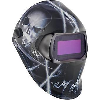 SpeedGlas 100V XTerminator H752220 lasapparatuur harde hoed EN 379, EN 166, EN 175, EN 169