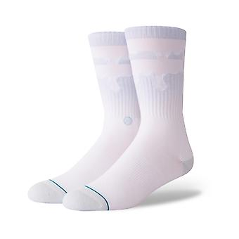 Stance Melt Down Crew Socks in Blue