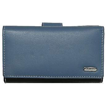 Felda RFID κυρίες πορτοφολιού πορτοφόλι γνήσιο δέρμα Πολύχρωμο μαλακό κουτί δώρου πιστωτικής κάρτας
