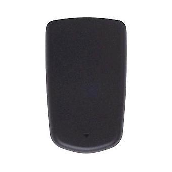 Samsung SCH-U350 Smooth Standard Battery Door Cover (Black) (Bulk Packaging)