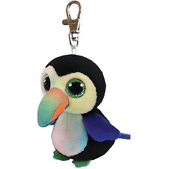 Ty Beanie Baby's 36565 Boos snavels de Toucan Boo belangrijke Clip