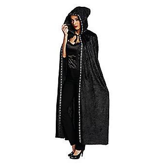 Cloak Cape women's black costume Halloween Carnival