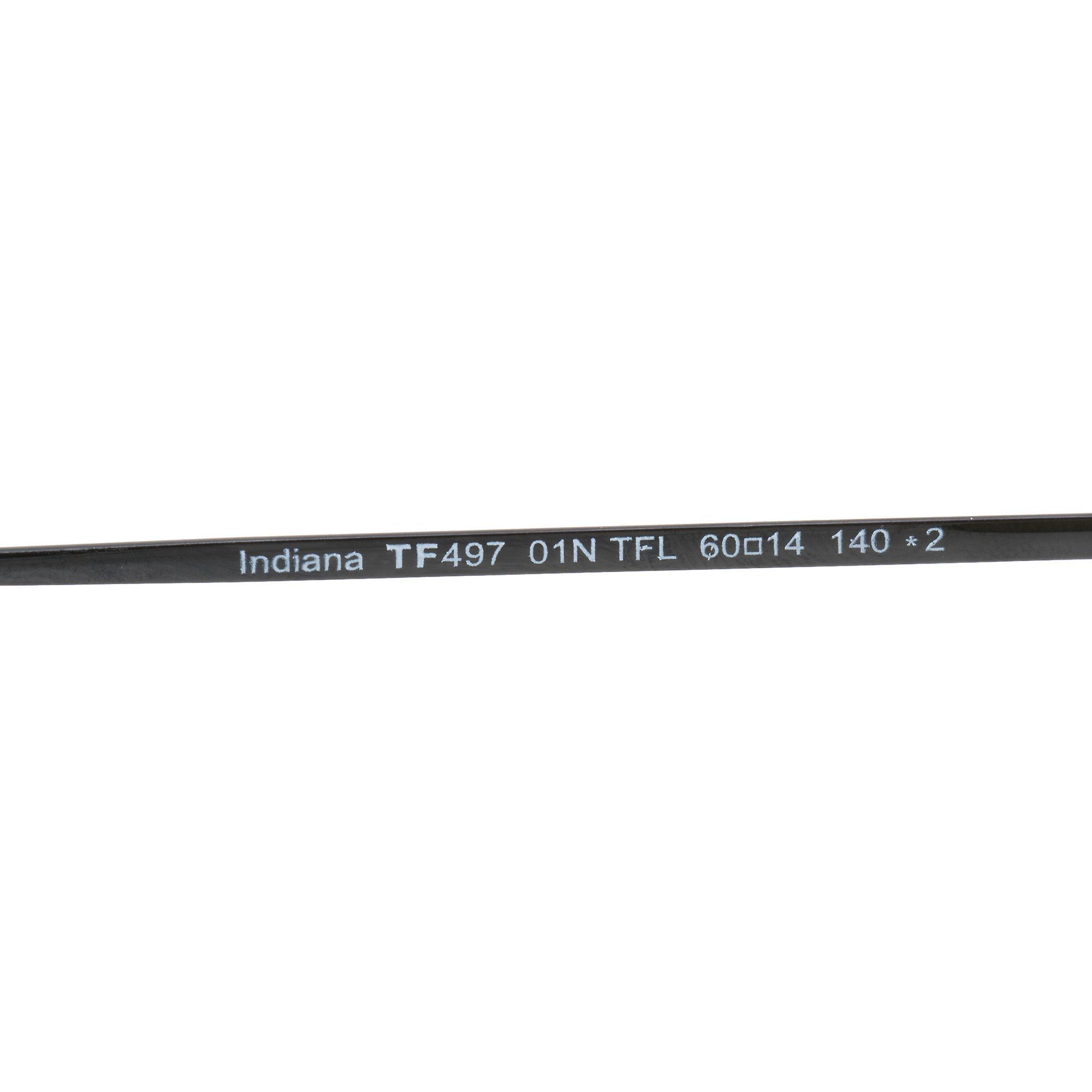 Tom Ford Indiana Aviator solbriller FT0497 01N 60