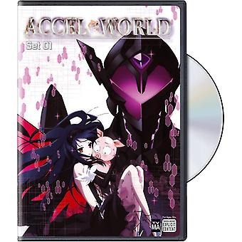 Accel World: Set 1 importación de Estados Unidos [DVD]