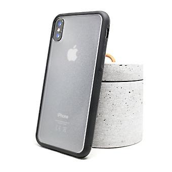 すりガラスの裏側のバンパーケース - iPhone X/XS!