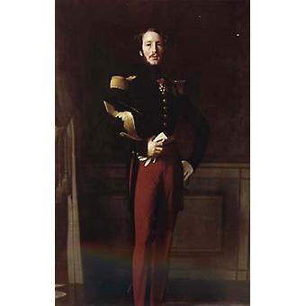 Portrait of Duke Ferdinand-Philippe of Orl, Jean Ingres