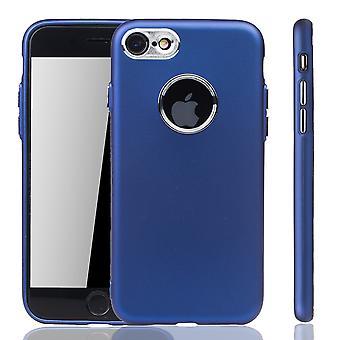 Apple iPhone 7 / 8 Hülle - Handyhülle für Apple iPhone 7 / 8 - Handy Case in Dunkelblau