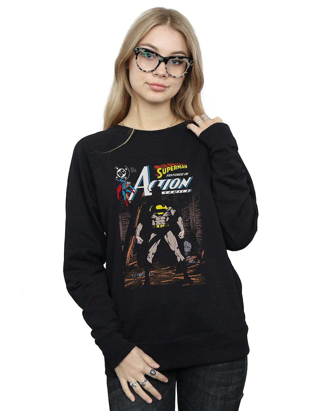 DC Comics Women's Superman Action Comics 644 Cover Sweatshirt