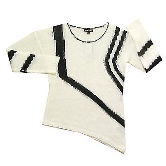 MARBLE Sweater 5032 Black With White