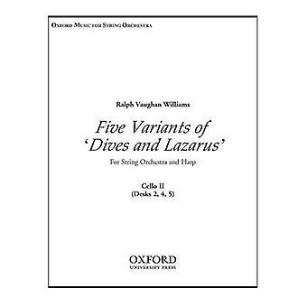 Cinco variantes 'Dives y Lázaro': violonchelo 2