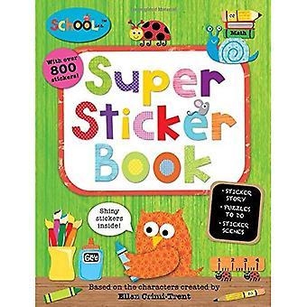Super Sticker Book [met Sticker(s)] (Schoolies)