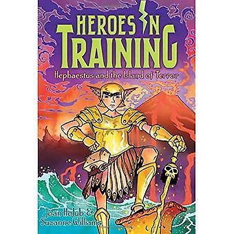 Hefajstos i Wyspa grozy (bohaterów w szkolenia (Hardcover))