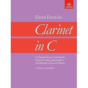 Elf Stücke für Klarinette in C