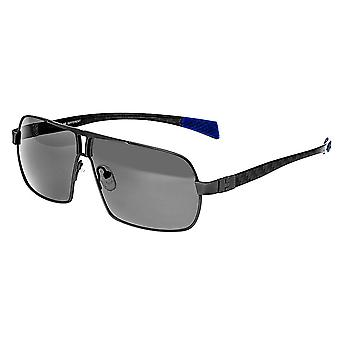Breed Sagittarius Titanium Polarized Sunglasses - Gunmetal/Black