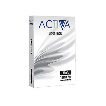 ACTIVA LINERS BLACK MED 3