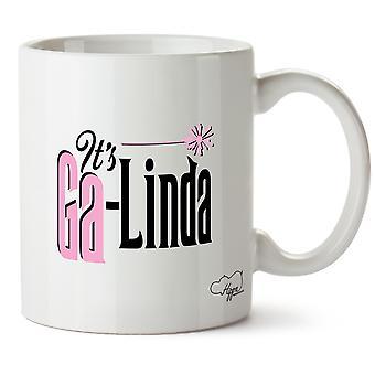HippowarehouseIt n Ga-Linda painettu muki Cup keraaminen 10oz