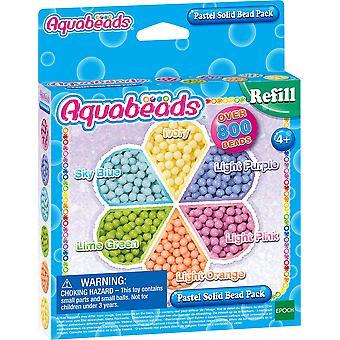 Aquabeads 31360 pastellfarbene Perlen mehrfarbig