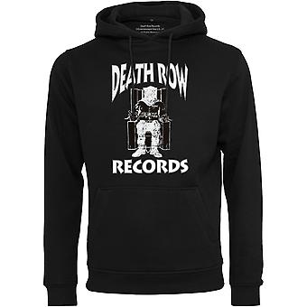 Merchcode Fleece Hoody - death row Recordsin musta