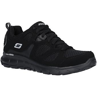 Skechers Boys Vim Turbo Ride Lace Up Athletic Sport Trainers