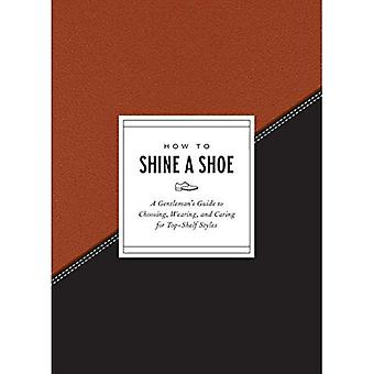 How to Shine a Shoe: A Gentleman's Guide to Choosing, Wearing, and Caring for Top-Shelf Styles� (How to)
