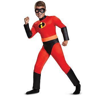 Dash musculaire classique Disney Pixar l'Indestructibles 2 super-héros garçons Costume