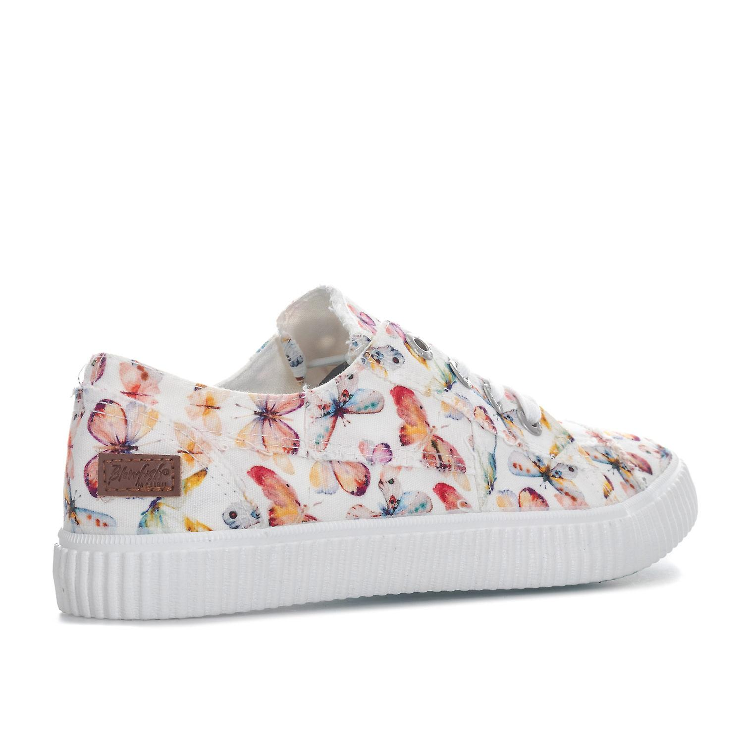 Womens Blowfish Cablee Pumps In Off White Flutter Print