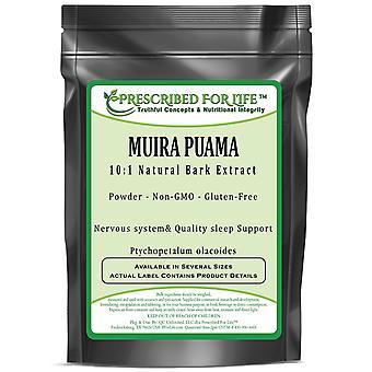 Muira Puama - Natural Bark Powder (Ptychopetalum olacoides)