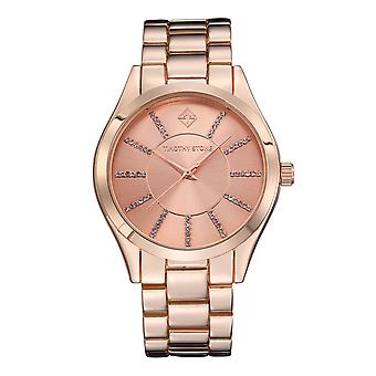 Pierre de Timothy femme CHARME-acier inoxydable Rose Gold-Tone Watch