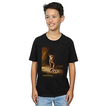 Disney Boys The Lion King Movie Simba Poster T-Shirt