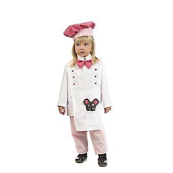 Chef Children's Costume Cook Girl Costume