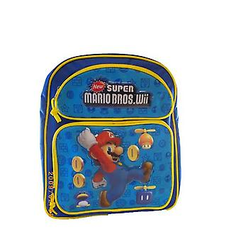 Medium Backpack - Nintendo - Super Mario - Jumping w/ Coins New Bag nn6805