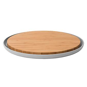 BergHOFF bamboo cutting board with plate