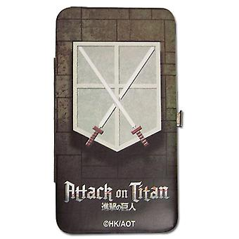Hinge Wallet - Attack on Titan - New Cadet Corps Anime Licensed ge61107