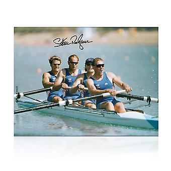 Sir Steve Redgrave Signed Olympics Rowing Photo: The Winning Team