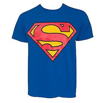Superman Glow-in-the-Dark symbol män ' s T-shirt