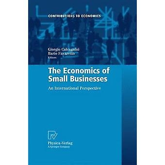 L'économie des petites entreprises Une perspective internationale par Calcagnini et Giorgio