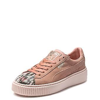 Puma Donna Sun F Stitch Pelle Basso Top Pizzup Fashion Sneakers